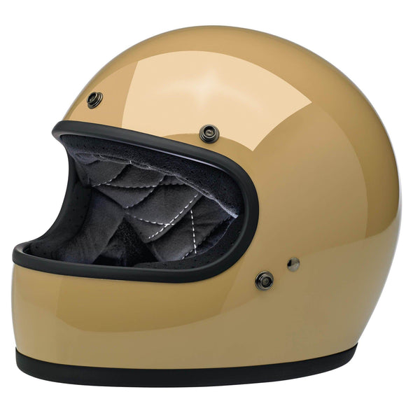 Gringo DOT/ECE Approved Full Face Helmet - Gloss Coyote Tan
