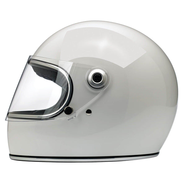 Gringo S DOT/ECE Approved Full Face Helmet - Gloss White