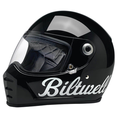 Lane Splitter DOT/ECE Approved Full Face Helmet - Gloss Black Factory