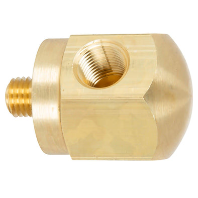 Rocker Box Oil Pressure Gauge Adapter Fitting - Brass - 1966 - 1970 Harley-Davidson Shovelhead, 1957 - 1970 Sportster