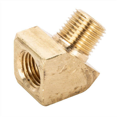 45 Degree Elbow 1/8 inch NPT Male To Female - Brass