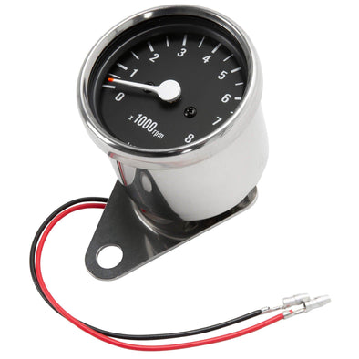Mini 2:1 ratio Mechanical Tachometer - 2.4 inch