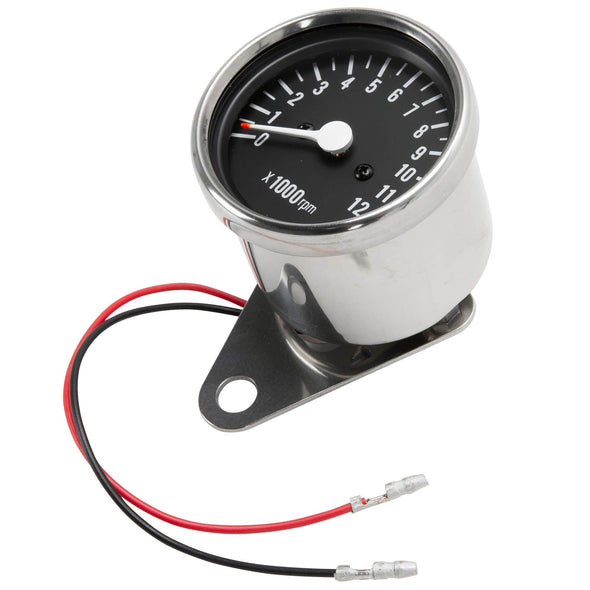 Mini 4:1 ratio Mechanical Tachometer - 2.4 inch