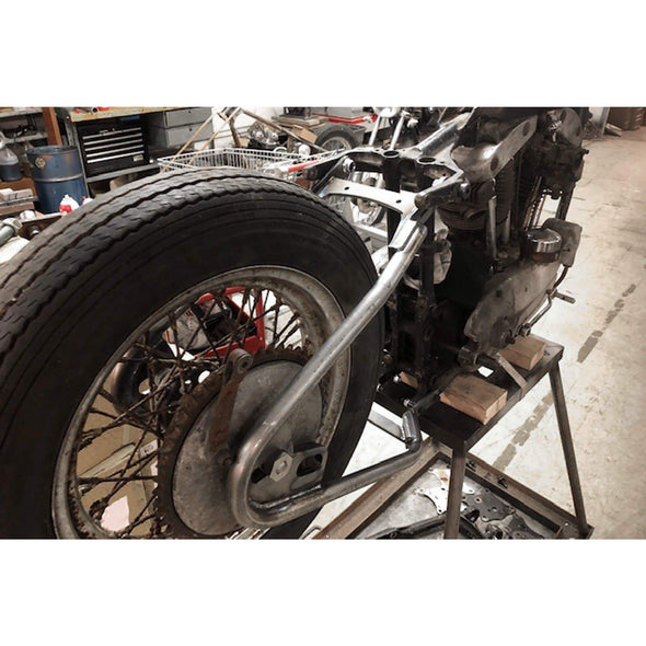KR Style Bolt-On Hardtail Rear Frame Section for 1952-1969 H-D Ironhead Sportster and K Model