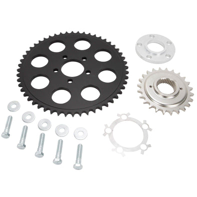 Belt to Chain Conversion Kit Harley-Davidson Dyna 1994-99 - Black Sprocket