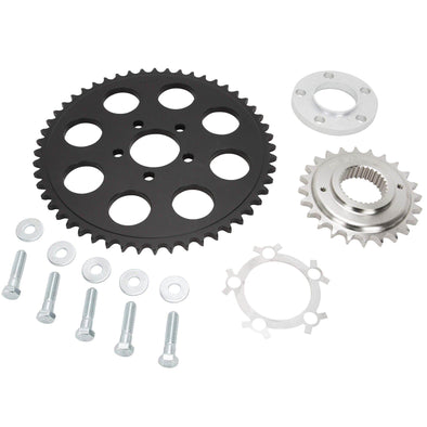 Belt to Chain Conversion Kit Harley-Davidson Dyna 2000-05 - Black Sprocket