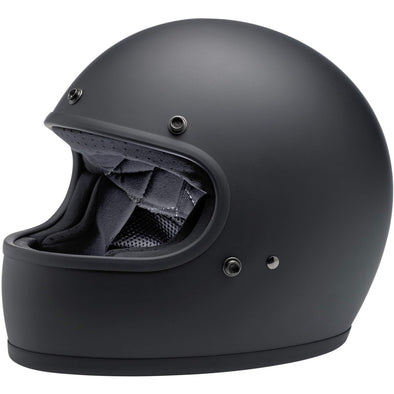 Gringo DOT/ECE Approved Full Face Helmet - Flat Black
