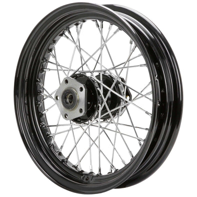 16 x 3.00 Black Complete Rear Wheel fits all Harley-Davidson 1979-1999 (except FLT)