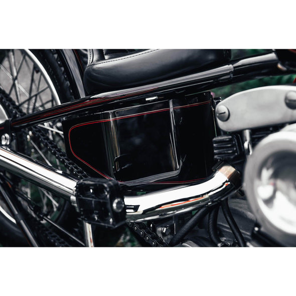 Horseshoe Oil Tank for Lowbrow Customs 1982-03 Harley Sportster Hardtails