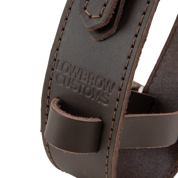 Leather Fuel Reserve Bottle Carrier - Brown