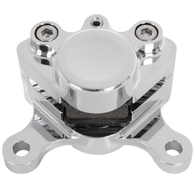 Dual Piston Brake Caliper - Chrome