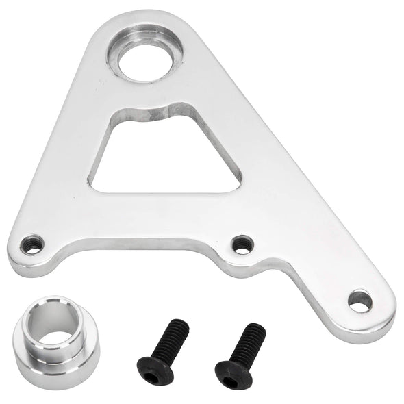 Rear Caliper Bracket for Rigid Models with 11-1/2 inch Rotors - Polished