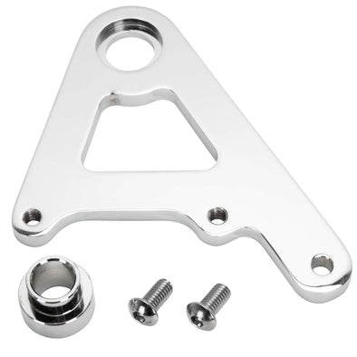 Rear Caliper Bracket for Rigid Models with 11-1/2 inch Rotors - Chrome