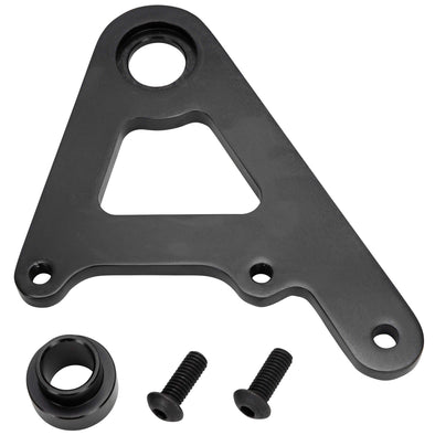 Rear Caliper Bracket for Rigid Models with 11-1/2 inch Rotors - Black