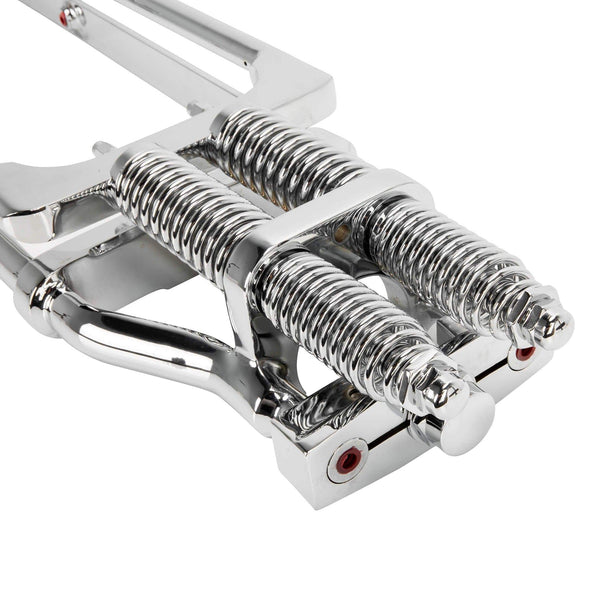 Wide Style Gen 2 Springer Front End 4 inch Over Length - Chrome