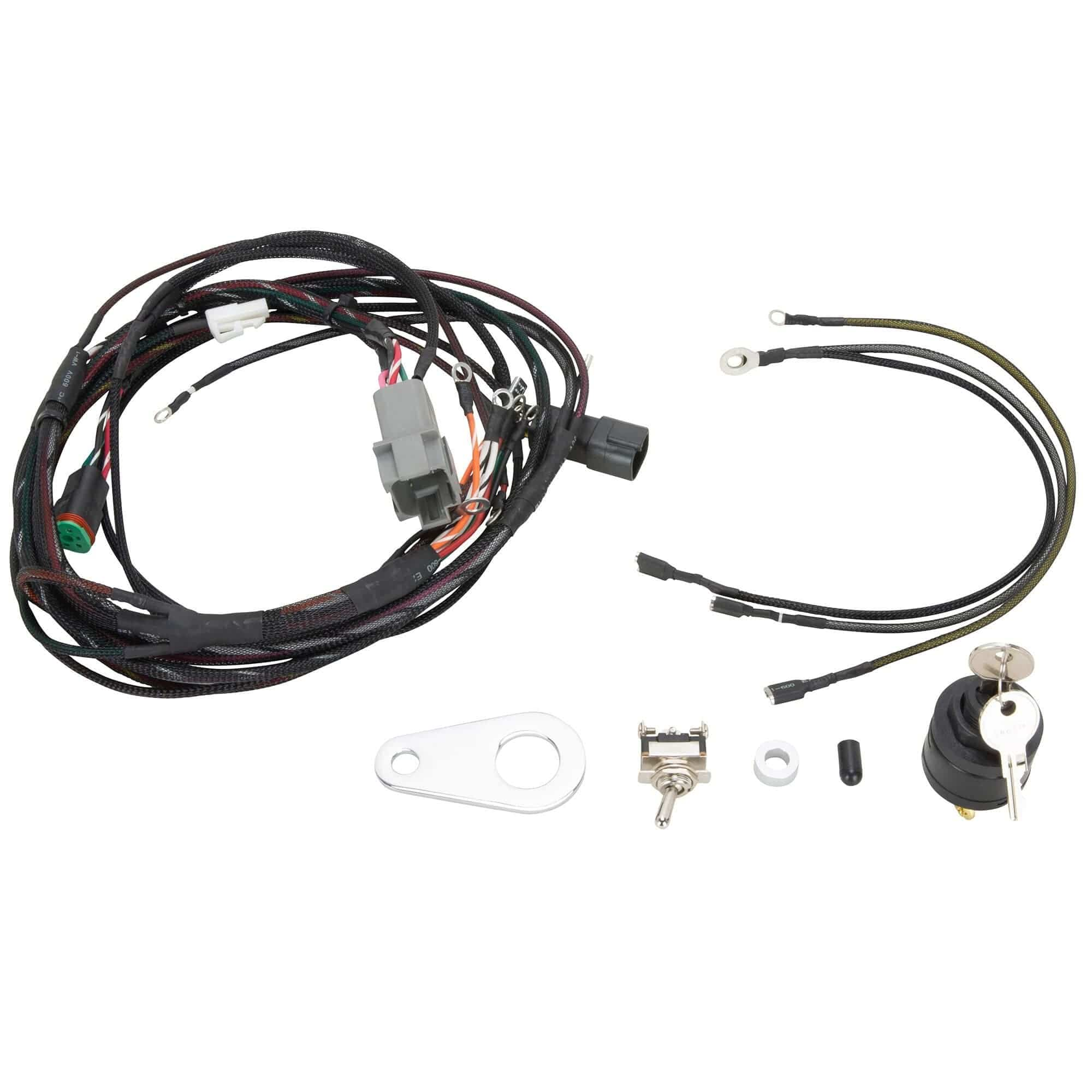 The Sportster Treatment Custom Wiring Harness Kit 1994-1996 Harley-Davidson  Sportster Models – Lowbrow CustomsLowbrow Customs