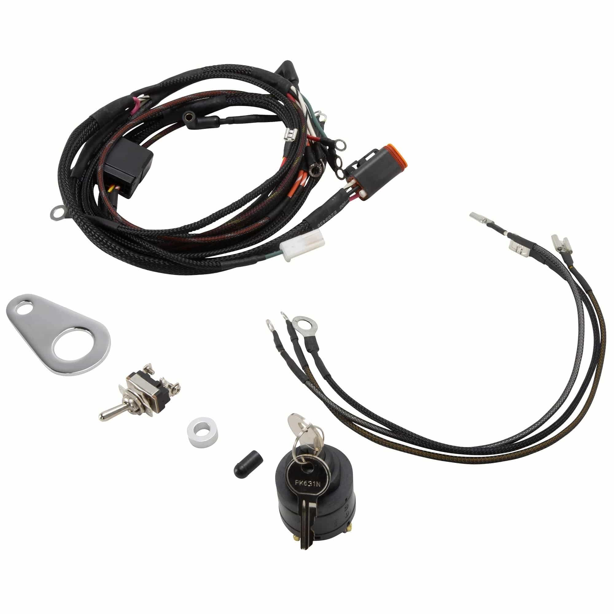 The Sportster Treatment Custom Wiring Harness Kit 1999-2003 Harley-Davidson  Sportster Models – Lowbrow CustomsLowbrow Customs