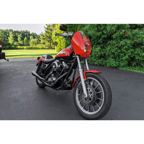 2 into 1 SuperMeg Exhaust by Kerker 1984 - 1994 Harley-Davidson FXR