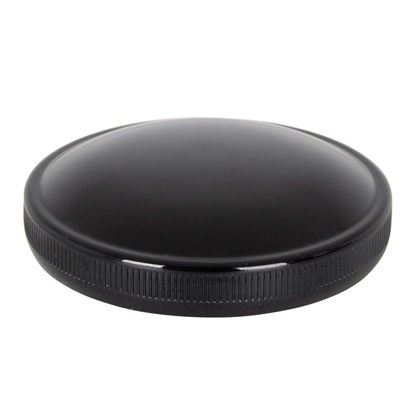 "Bayonet / Cam Harley Style Non-Vented 2.5"" Gas Cap - Black"
