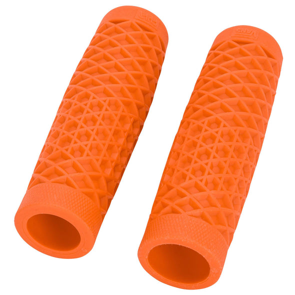 Motorcycle Grips by ODI - Classic Orange - 1 inch