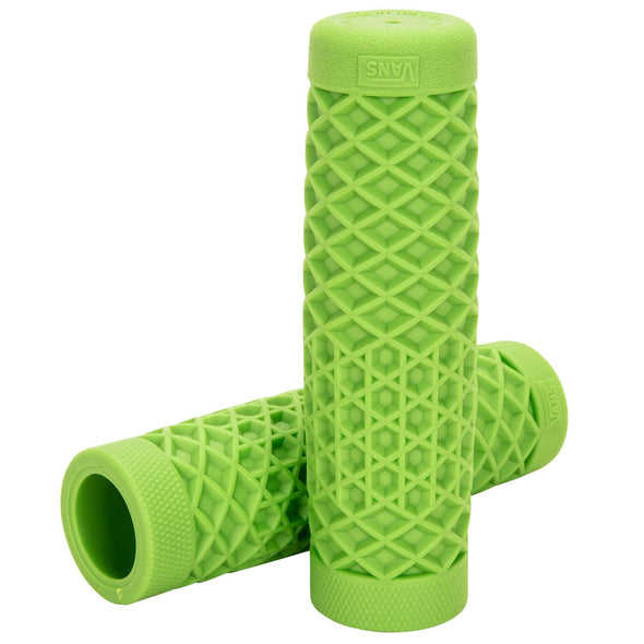 Motorcycle Grips by ODI - Green - 1 inch