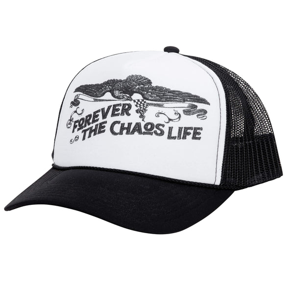 FTCL Racing - Otto Trucker Hat - Black & White