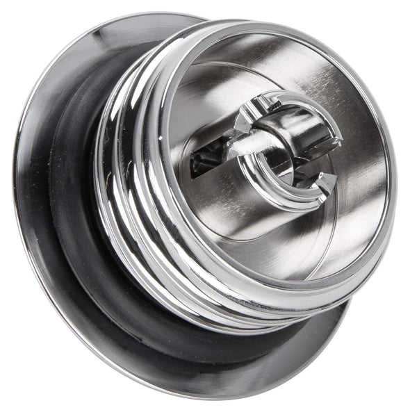 Pop-Up Gas Cap - Chrome - Non-Vented - for Harley 1996 & later