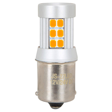 Single filament SMD 12v LED Bulb - 1156 - Amber
