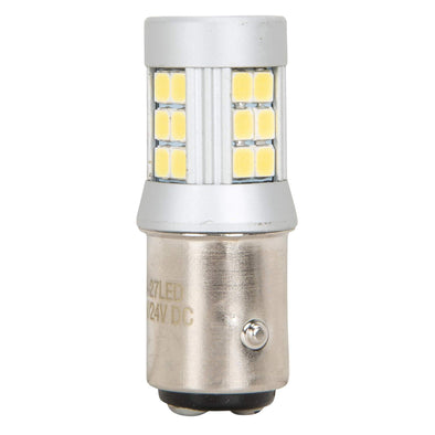 Dual filament SMD 12v LED Bulb - 1157 - White