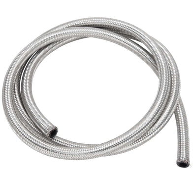 3/8 inch Braided Stainless Fuel Line - 6 ft.