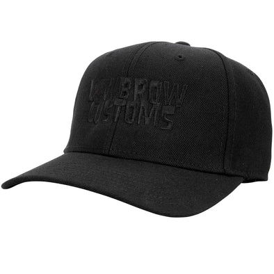 Blackout Embroidered Snapback Hat