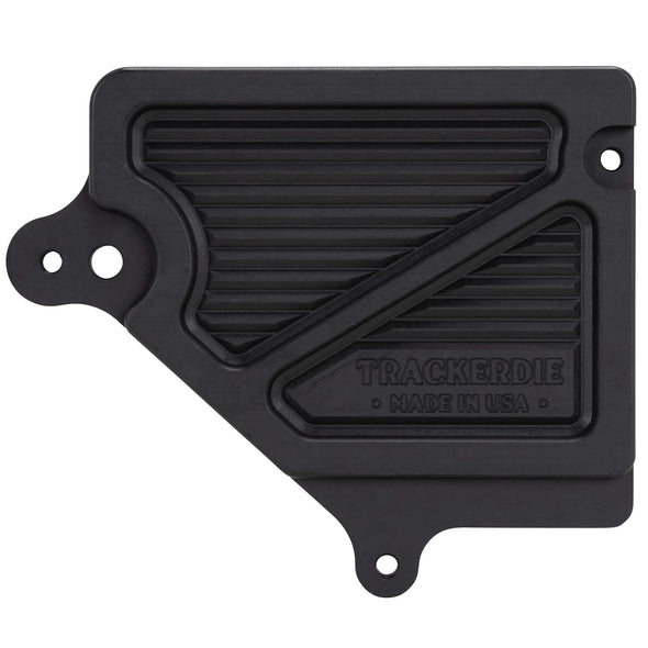 'Bulletproof' Sprocket Cover for 2004 & Up Harley-Davidson Sportster XL - Black