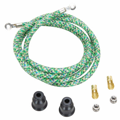 Spark Plug Wire Kits - Green Explosion