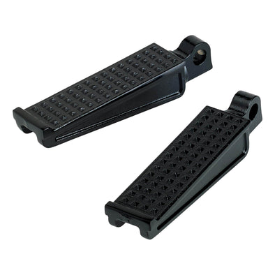 Sanderson Cast Stainless Foot Pegs - Black