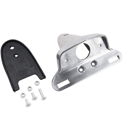 Polished Cast Tail Light Bracket for Lucas Style Tail Light