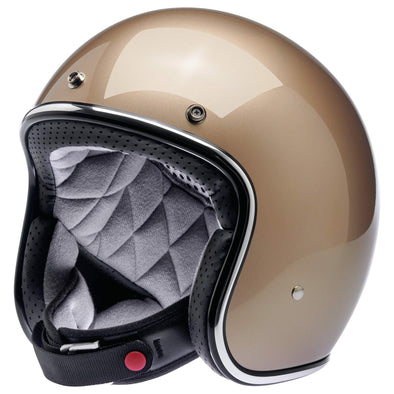 Bonanza Helmet DOT Approved Helmet - Metallic Champagne