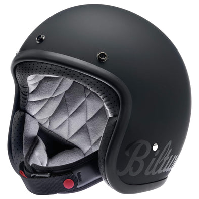 Bonanza Helmet DOT Approved Helmet - Flat Black Factory