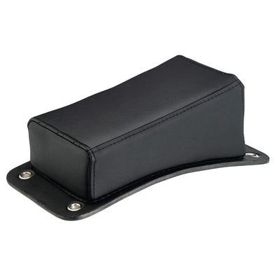 Harlot P-Pad - Black Smooth Vintage Style Pillion Pad
