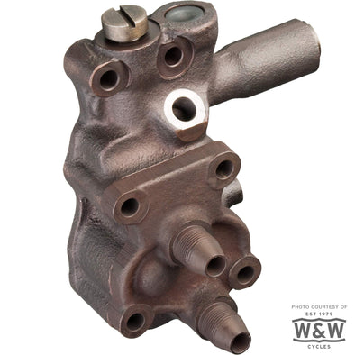 Oil Pump 1936-52 Harley-Davidson Knucklehead Panhead - Replaces OEM# 26201-41 26201-48