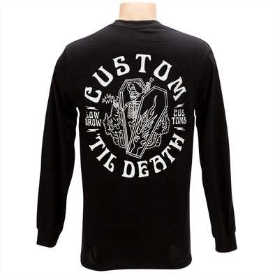 Custom Til Death Long Sleeve Shirt