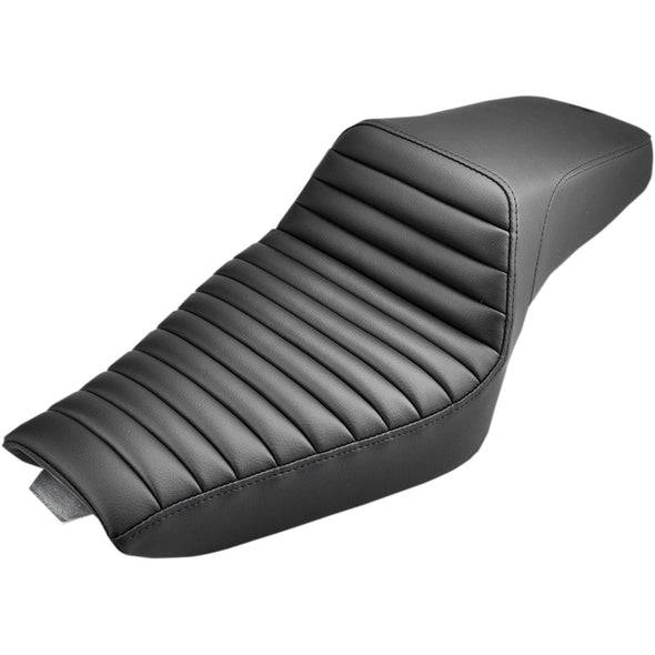 Step Up Seat - Tuck and Roll - fits 2004-Up Harley-Davidson Sportsters