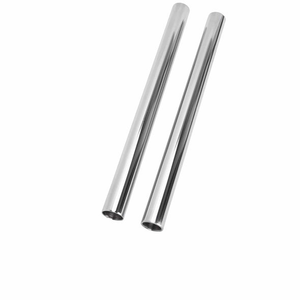 41MM Chrome Fork Tubes - 20 inch - Stock Length