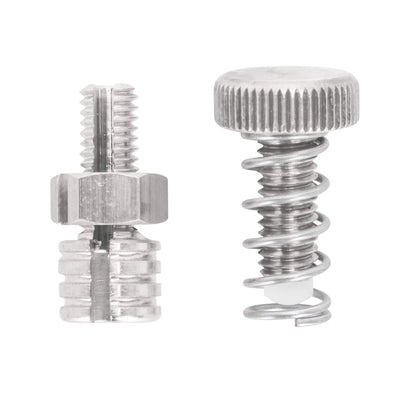 Stainless Steel Stop Screw and Cable Stop / Register for KustomTech Throttles