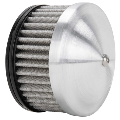 MOON Spun Aluminum Air Cleaner for CV or S&S Super E/G Carburetors