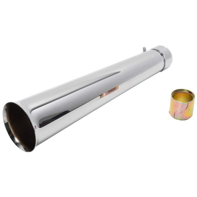Blunderbuss Exhaust Muffler - Chrome