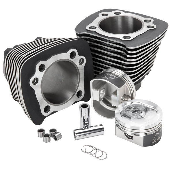 Harley Sportster 883 to 1200cc 1986 - 2003 Black Complete Big Bore Kit