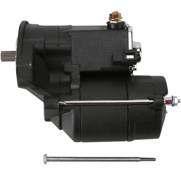 Replacement  Starter - 1990-2006 Harley-Davidson Big Twin/Twin Cam - Black