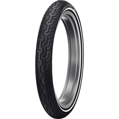 D402 Harley-Davidson MH90-21 Medium Whitewall Front Motorcycle Tire