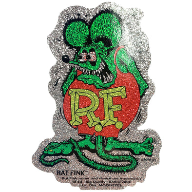 Rat Fink Metalflake Decal