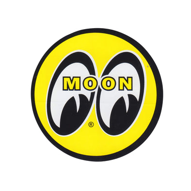 MOON Eyeball Logo Sticker - Small